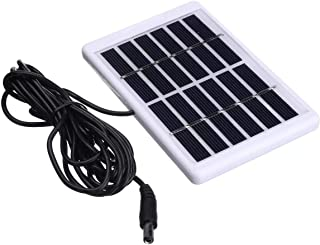 HDHUA Control Inalámbrico 6V 1,2W Cargador del Panel Solar Impermeable Durable for Acampar lámpara de luz de Emergencia