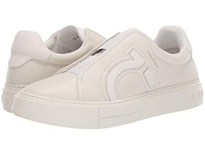 Salvatore Ferragamo Tasko Sneaker (White) Men