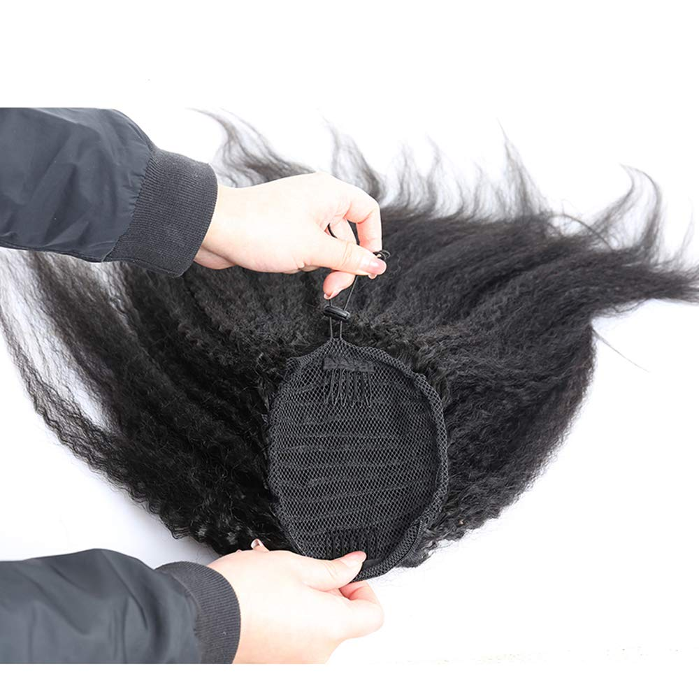 HairDancing Kinky Straight Ponytail Brazilian Extensions Hu Hair Popular brand in the world sale