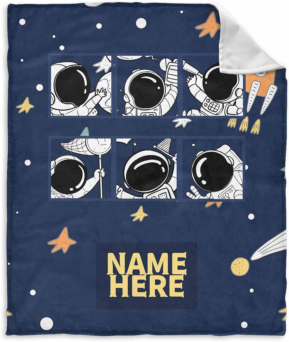 InterestPrint Personalized Name Blanket for Girl Baby shop and Dealing full price reduction Boy Ki