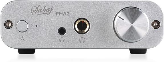 Sabaj Audio PHA2 Portable Headphone Amplifier Silver Color