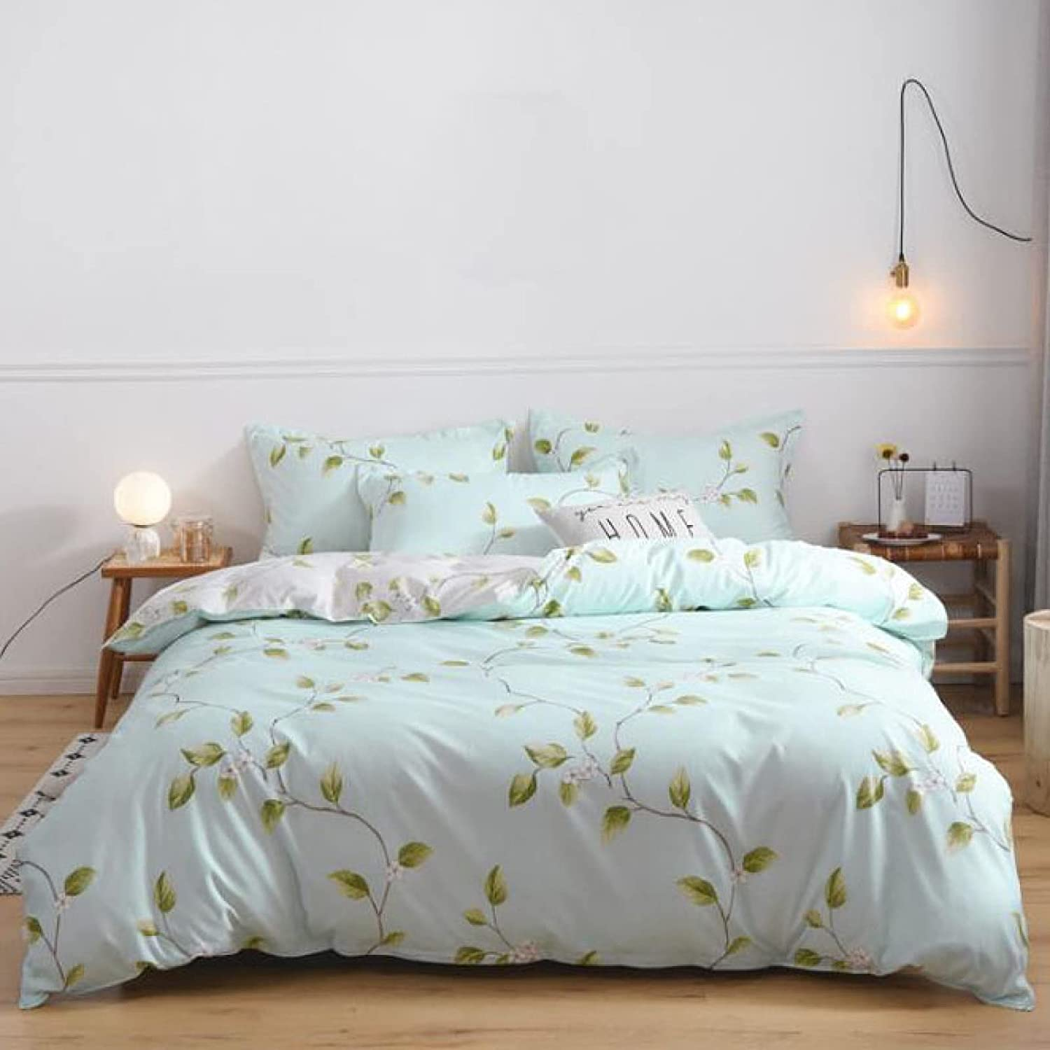 Max 71% OFF LZJX Duvet Quilts Covers Sets Queen Washable Single Double King NEW
