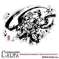 CALTA-ステッカー-風神 (1.Sサイズ)