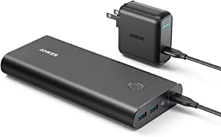 Anker PowerCore+ 26800 PD (26800mAh 2ポート 超大容量 モバイルバッテリー)【PSE認証済 / Power Delivery対応 / USB-C急速充電器付属】iPhone&Android対応