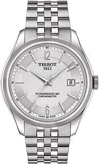 Tissot - Reloj analógico automático para hombre, talla única, plateado, bicolor 87201619