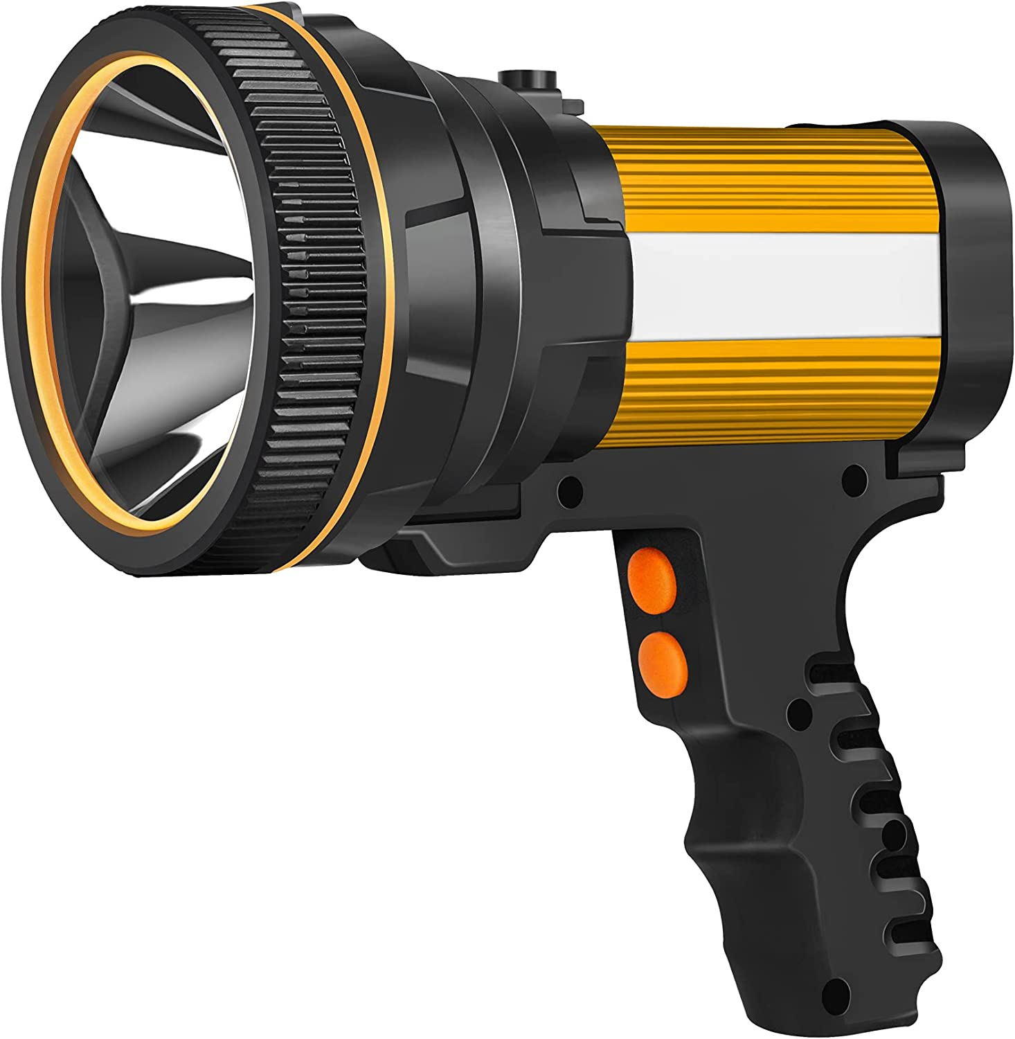 ANLOOK Spotlight Flashlight LED 40% OFF Cheap Sale 55W Outd Rechargeable 6000 25% OFF Lumen