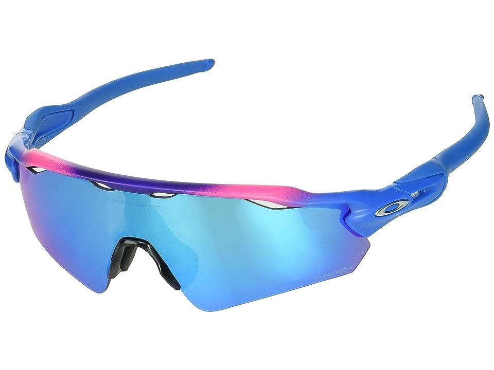 Oakley Radar EV Asian (Factory Fade/Prizm Sapphire) Sport Sunglasses