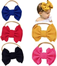Baby Girls Bow Headbands for Baby,Toddler Girls Hair Accessories Bows Hair Bands Photography Props Hairband
