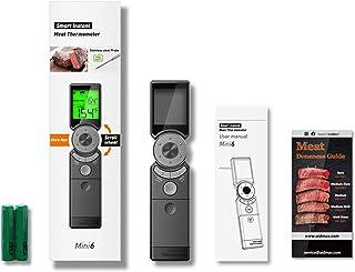 BIlinli Termometro Digitale per Carne da Cucina a Lettura istantanea per Cottura al Forno per Barbecue IP65 Display LCD re...