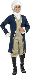 Charades Child's George Washington Costume, As Shown, X-Small