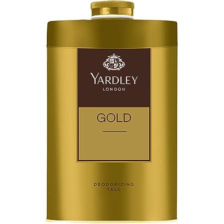 Yardley London Gold Deodorizing Talc for Men, 250g