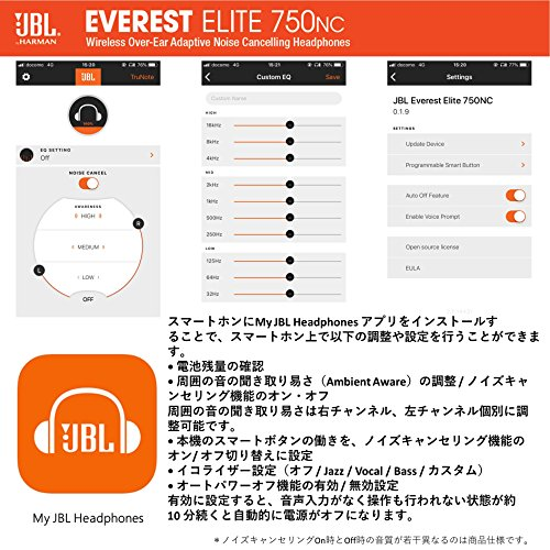 JBL『EVERESTELITE750NC』