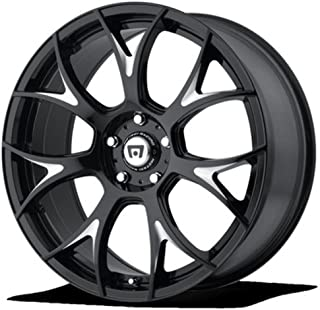 MOTEGI MR126 Gloss Black With Milled Accents Wheel Chromium (hexavalent compounds) (20 x 10. inches /0 x 57 mm, 38 mm Offset)