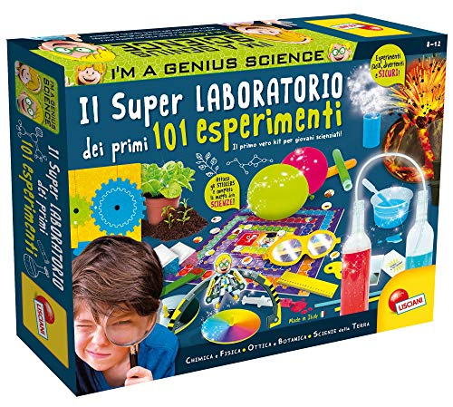 Lisciani Giochi - Super Laboratorio dei Primi 101 Esperimenti, Multicolore, 69330, 8 - 12 anni