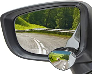 JoyTutus Blind Spot Car Mirror, Clear & Wider View, Minimizes Occupied Mirror, HD Glass Blind Spot Mirror for Reversing & ...
