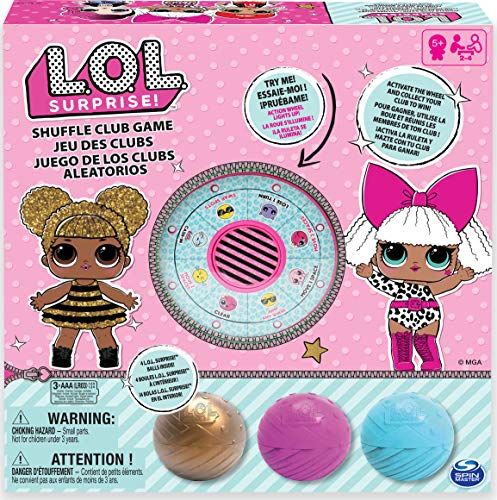 Spin Master Games L.O.L. Surprise Shuffle Club Spiel