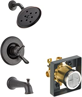 Delta Delta KTSDLI-T17494-RB Linden Tub/Shower Kit Pressure-Balance Dual-Function Cartridge, Venetian Bronze Venetian Bronze
