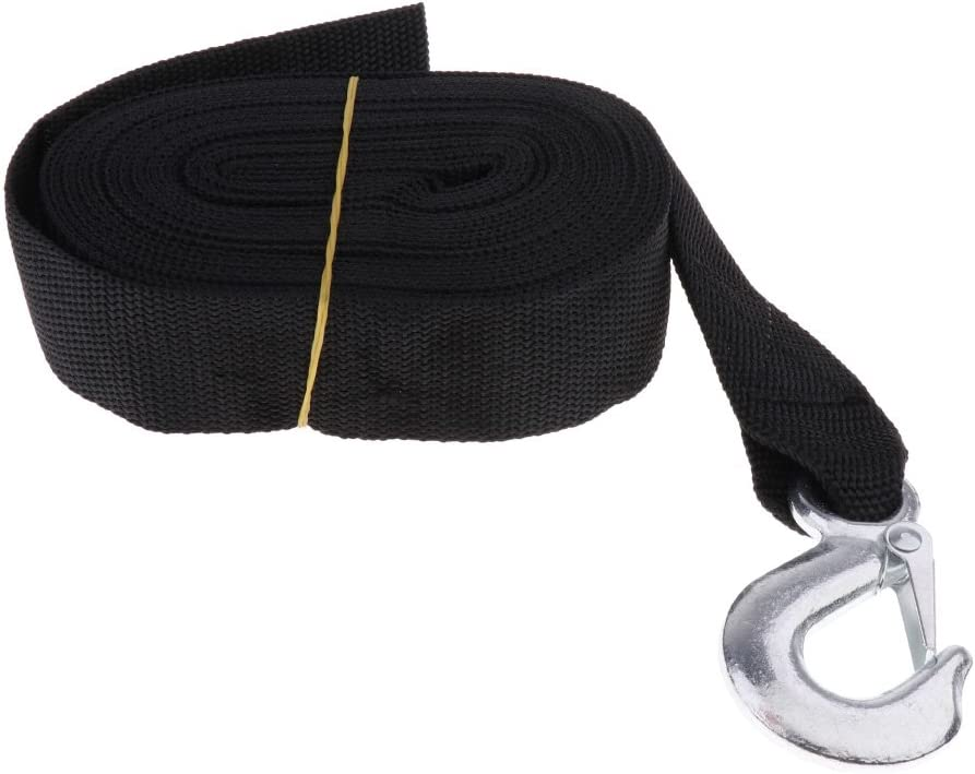 #N A 7.5m Nylon Winch Strap with Duty Nashville-Davidson Mall for Heavy Hook Boat Seattle Mall Traile