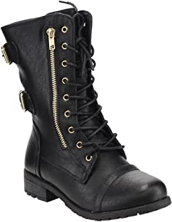 Link Women's Military Stlye Boots