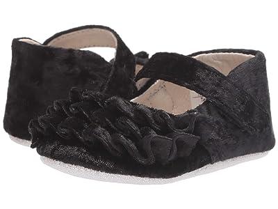 Robeez Kate First Kicks (Infant/Toddler) (Black Velvet) Girl