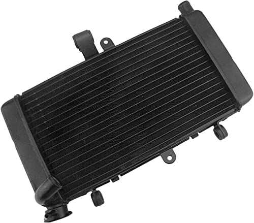 lowest Mallofusa Motorcycle online sale Aluminum Radiator Cooling Cooler Compatible for Honda outlet sale CBR250 MC22 Black sale