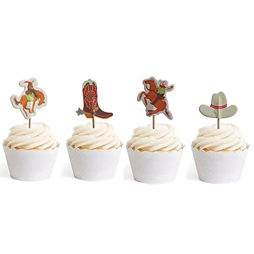 Marvelous Cowboy Cake Toppers Amazon Com Funny Birthday Cards Online Chimdamsfinfo