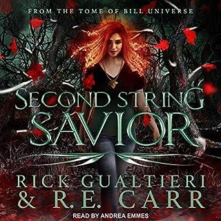 Second String Savior audiobook cover art