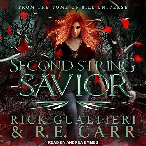 Second String Savior audiobook cover art