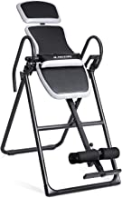 MaxKare Inversion Equipment Table Stable Upside Down Back Pain Relief with Adjustable Headrest & Waist Cushion Foldable
