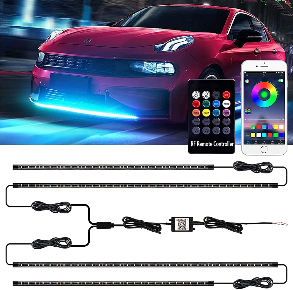 Max 69% OFF LEDUR Car Superior Underglow Lights Neon Strip Accent Exterior