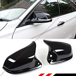 True M4 Style Side Wing Mirror Cover Full Housing Assembly Replacement Fits for BMW F22 F30 F31 F32 F33 F36 Glossy Black