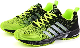 AUCDK Men Fashion Mesh Trainer Casual Breathable Lazy Sneakers Men Lightweight Sports Running Shoes