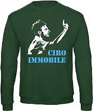 Art T-shirt, Raglan Ciro Immobile Lazio Sweatshirt voor heren