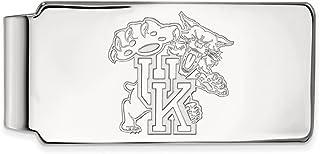 LogoArt Sterling Silver Coastal Carolina University Money Clip Crest SS023CCU