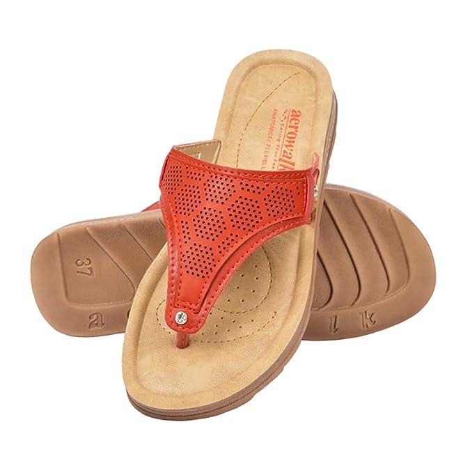 Buy AEROWALK Low Heel Flat Sandal for