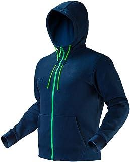 Neo Premium Work Outdoor Zipped Double Layer Hoodie Navy Blue