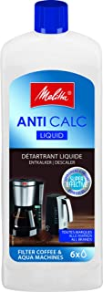 Melitta 192618 Descalcificador Liquido Anti Calc para Cafeteras de Goteo y Hervidores Eléctricos, 2 usos, 250 ml, Plástico