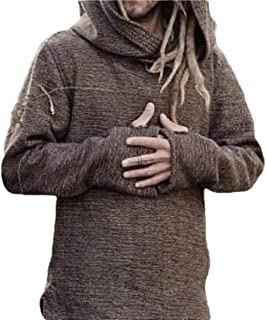 Men Sweater Sport Pullover Hoodies Outwear Tops Blouse Jumper Hooded Sweatershirt