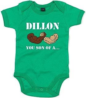 Dillon, You Son of A, Printed Baby Grow