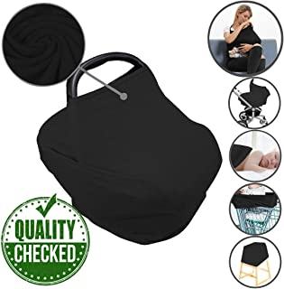 black breastfeeding cover