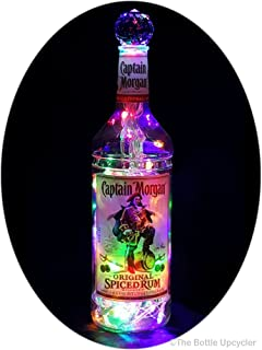 captain morgan bottle lamp