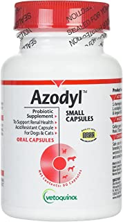 Vetoquinol Azodyl Kidney Health Supplement for Dogs & Cats, 90ct - Probiotic Pet Wellbeing -