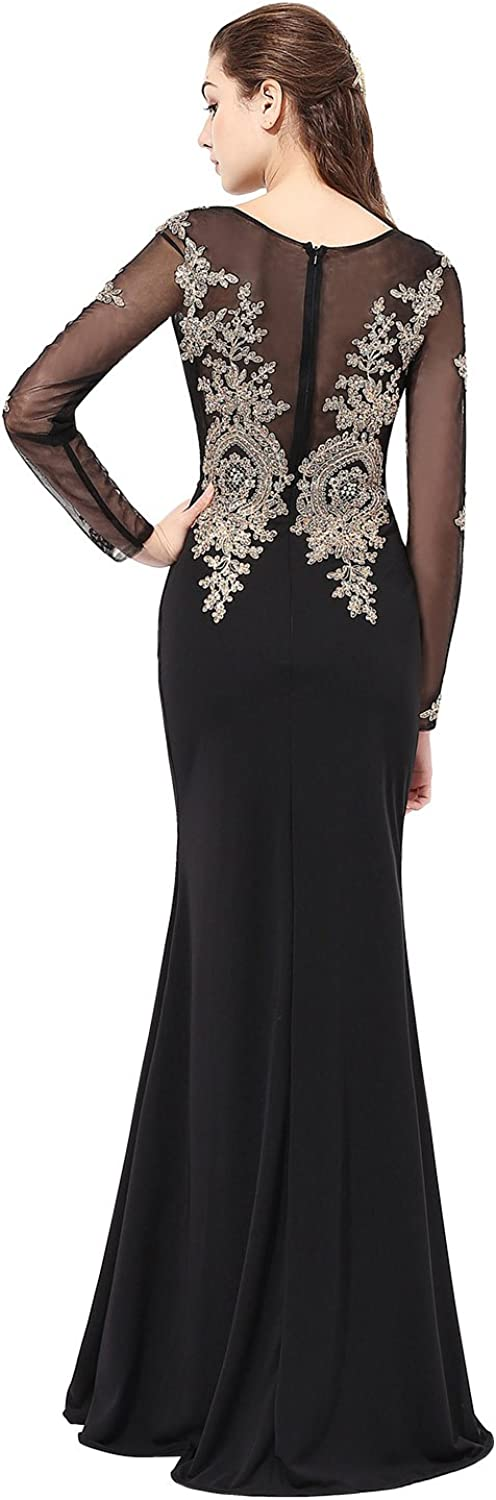 Sarahbridal Women's Prom Dresses Long 2021 Fromal Evening Ball Gowns