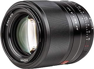 Viltrox 56mm F1.4 STM 大口径 単焦点レンズ Fujifilm Xマウント オートフォーカス ポートレートレンズ fujiカメラに対応 軽量 柔らかいボケ味 瞳AF対応 X-Pro1/Pro2/T1/T2/T3/X-T4/T...