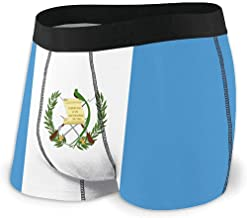 Web--ster Breathing Yoga Men 'S Flag of Guatemala Ropa Interior Deportiva Algodón Stretch Boxer Brief