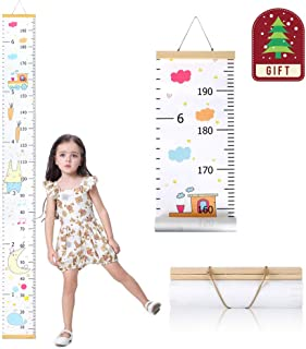Wall Growth Chart, Canvas and Wood Growth Chart for Kids,...