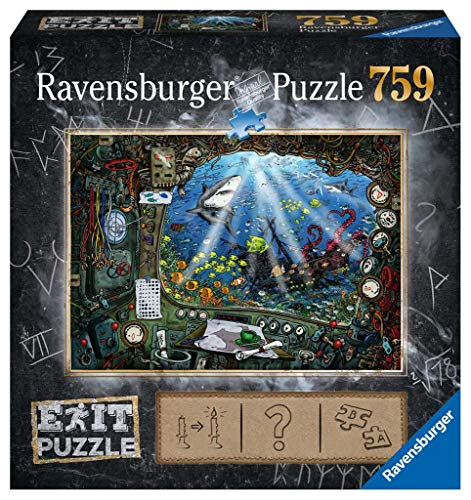 Ravensburger 19953 Im U-Boot 759 Teile Exit Puzzle