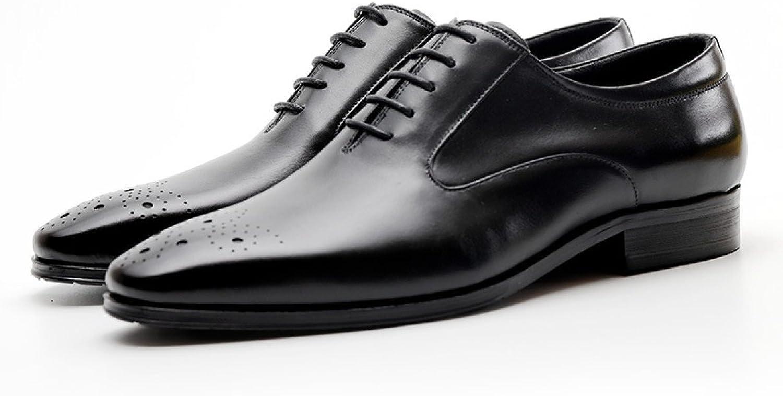 ZPFME Männer Business Casual Schuhe Wies Lace Lace Lace Up Brogues Schuhe Mens Klassische Hochzeitsschuhe B07C93JWY2 ae4518