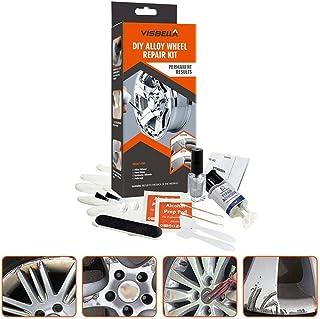 Car Wheel Repair Agent, DIY Aluminum Alloy Wheel Repair Glue, GM Wheel Hub Scratch Concave Putty Fill Repair Tool Set Care Accessories