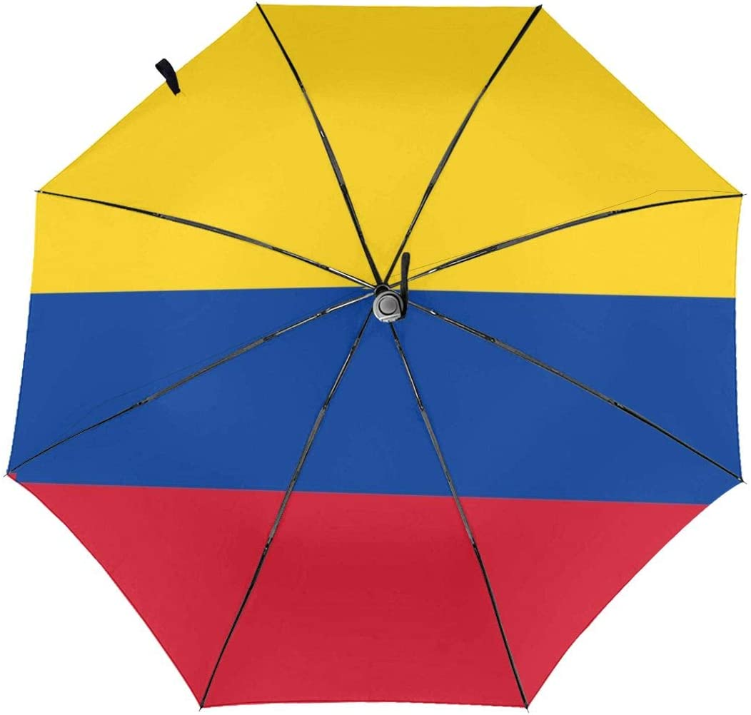 Merahans Colombian Flag Travel lowest price Umbrella Foldi cheap Windproof Anti-UV